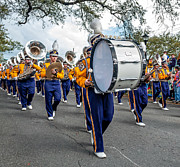 Marching Band Photo Prints - LSU Tigers Band 3 Print by Steve Harrington