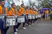 Marching Band Photo Prints - LSU Tigers Band 4 Print by Steve Harrington
