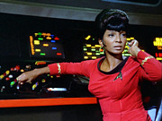Uhura Prints - Lt Uhura Print by Mountain Dreams