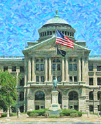 William Mckinley Prints - Lucas County Court House Print by Jack Schultz