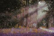 Sunlight Painting Posters - Luci Poster by Guido Borelli
