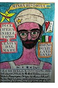 Singing Pastels Originals - Lucio Dalla by Francesco Martin
