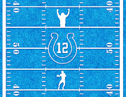 Pro Football Prints - Luck Print by Cristophers Dream Artistry