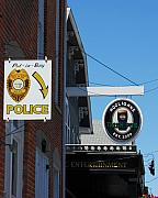 Police Metal Prints - Luck Of The Irish Metal Print by Mel Steinhauer