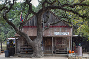 Luckenbach Framed Prints - Luckenbach Post Office Framed Print by Rob Greebon