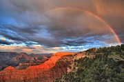 Mather Framed Prints - Lucky Charms At Grand Canyon Framed Print by Adam Jewell