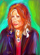 Steven Tyler Acrylic Prints - Lucky Acrylic Print by To-Tam Gerwe