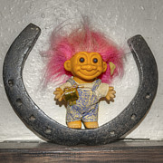 Good Luck Prints - Lucky Troll Print by Rob Hawkins