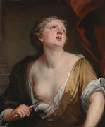Famous Artists - Lucretia by Godfrey Kneller
