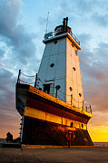 D700 Art - Ludington Lighthouse by Thomas Detert