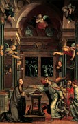 Gabriel Posters - Luini Bernardino, Annunciation, 16th Poster by Everett