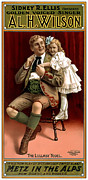 Swiss Painting Metal Prints - Lullaby Yodel Metal Print by Terry Reynoldson