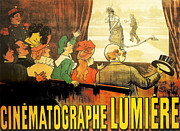 Lumiere Framed Prints - Lumiere Cinematographe Framed Print by Nomad Art and  Design