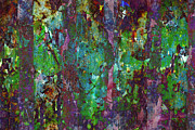 Grape Leaf Prints - Luminous Forest Print by Susan Moss