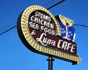Todd Baxter Metal Prints - Luna Cafe Metal Print by Todd Baxter