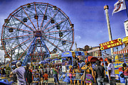 Luna Metal Prints - Luna Park 2013 - Coney Island - Brooklyn - New York Metal Print by Madeline Ellis