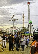 Luna Art - Luna Park - Coney Island - Bklyn - NY by Madeline Ellis