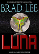 Book Jacket Design Art - Luna Sample Book Jacket by Mike Nellums