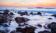 Rancho Palos Verdes Framed Prints - Lunada Bay Sunset Framed Print by Adam Pender