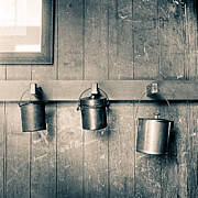 Duotone Photos - Lunch Pails by Will Gunadi