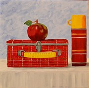 Lunch Box Prints - Lunchtime Print by Nancy Wood