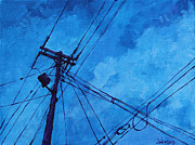 Michael Ciccotello - Lunchtime Telephone Pole