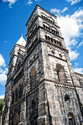 Lund Framed Prints - Lund Cathedral 02 Framed Print by Antony McAulay