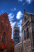 Lund Framed Prints - Lund Cathedral HDR 02 Framed Print by Antony McAulay