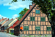 Lund Framed Prints - Lund old building 02 Framed Print by Antony McAulay