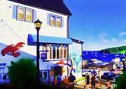 Lunenburg Vista View Print by Patricia L Davidson