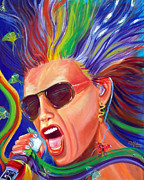 Rock And Roll Painting Originals - Lunesta by To-Tam Gerwe
