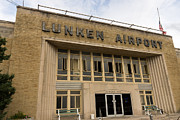 Historic Aviation Prints - Lunken Airport in Cincinnati Ohio Print by Paul Velgos