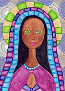 Icon  Drawings - Lupita Aya Sofya by Emily Lupita Studio