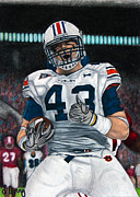 Alabama Drawings Prints - Lutzie Print by Lance Curry