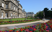 Sculpture Greeting Cards Posters - Luxembourg Palace in Paris Poster by RicardMN Photography