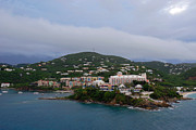 Saint Christopher Photo Prints - Luxurious St Thomas Print by Willie Harper