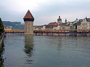 Chris Walker - Luzern Wooden Bridge