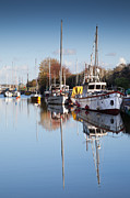 Lydney Harbour Print by David Tinsley