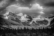 Canadian Rockies Prints - Lynx Mountain Print by Ian Stotesbury