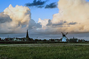John Collier Framed Prints - Lytham landscape Framed Print by John Collier