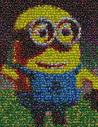 M And Ms Framed Prints - M and M Minion   Framed Print by Paul Van Scott