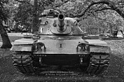 M60 Tank Photos - M60 Patton Tank by Thomas Woolworth