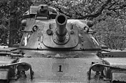 M60 Patton Tank Posters - M60 Patton Tank Turret Poster by Thomas Woolworth