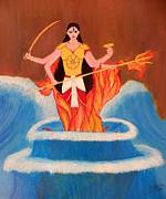 Ma Bharati Print by Pratyasha Nithin