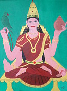 Hindu Goddess Originals - Ma Sharada by Pratyasha Nithin