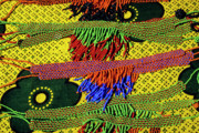Jewellery Framed Prints - Maasai Beadwork Framed Print by Michele Burgess
