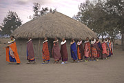 Jay Fries - Maasai Women Enter Plaza...