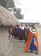 Jay Fries - Maasai Women Entering...