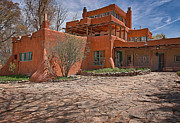 Sterne Prints - Mabel Dodge Luhan house  Print by Charles Muhle
