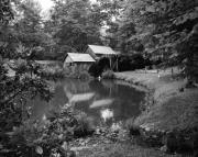 Grist Photos - Mabry Mill 2 by Mel Steinhauer